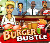 time management games casual games  Burger Bustle