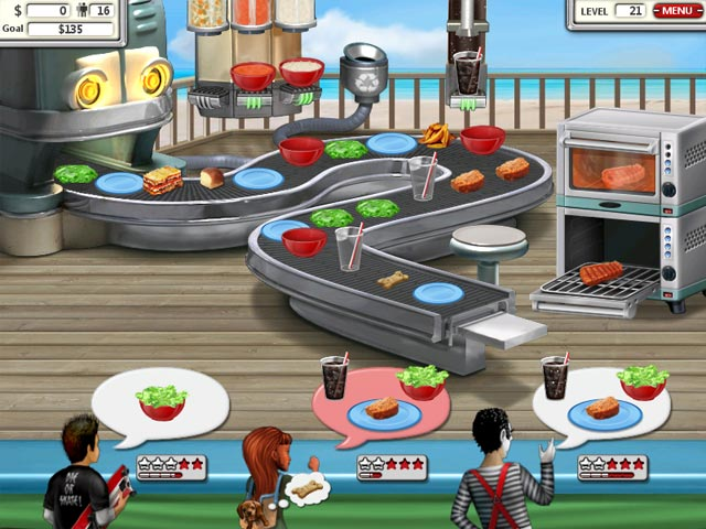 hamburger shop game