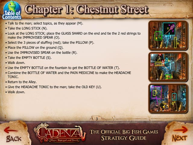 Cadenza music betrayal and death strategy guide ipad for Big fish musical script