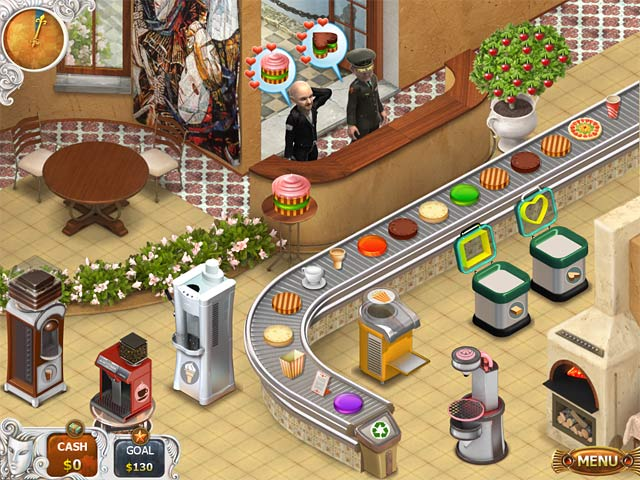Cake shop free game screenshots.