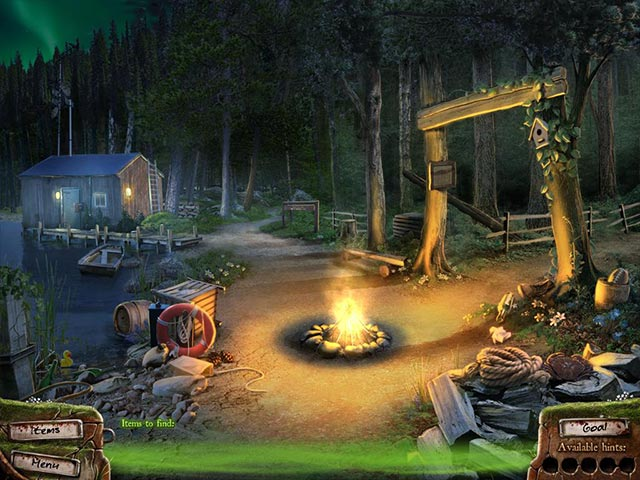 Campfire legends the hookman ipad iphone android mac for Harrys fish camp