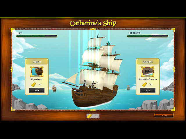 Catherine Ragnor and the Legend of the Flying Dutchman - Screenshot