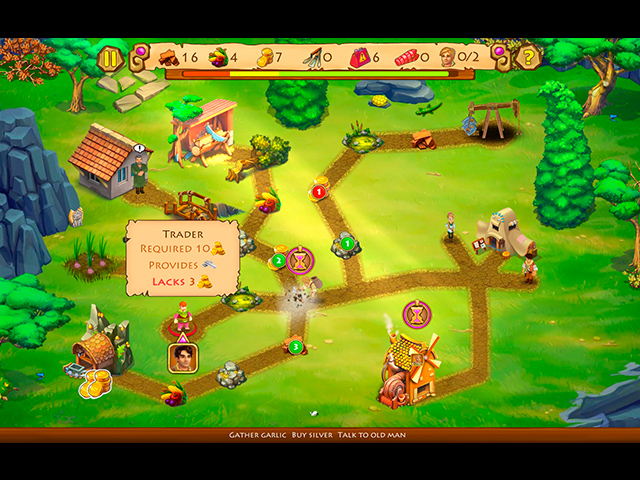 Chase for Adventure 4: The Mysterious Bracelet Collector's Edition - Screenshot