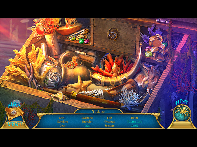 Chimeras: Wailing Waters Collector's Edition - Screenshot