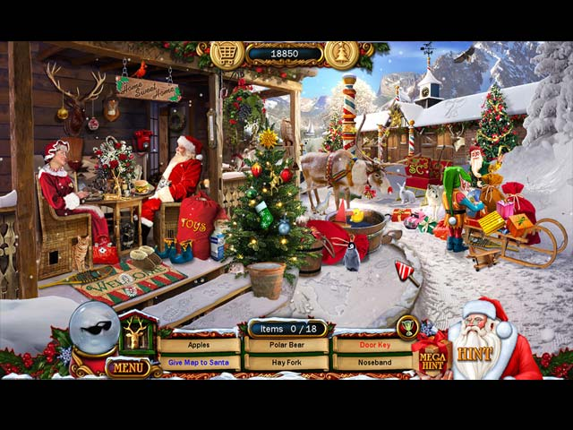 Christmas wonderland 6 ipad iphone android mac pc for Big fish hidden object games