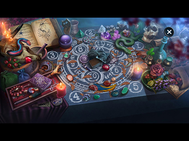 City Legends: The Curse of the Crimson Shadow Collector's Edition - Screenshot