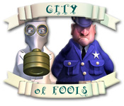 "Play ""City of Fools"" Puzzle Logic Game Free At Play-Free.org"