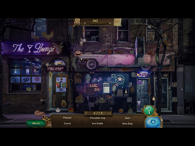 Classified: Death in the Alley - Screenshot