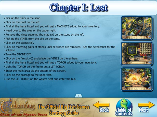 Columbus ghost of the mystery stone strategy guide ipad for Big fish casino promo codes