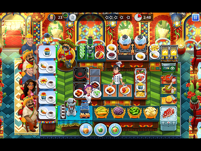 Cooking Stars - Screenshot