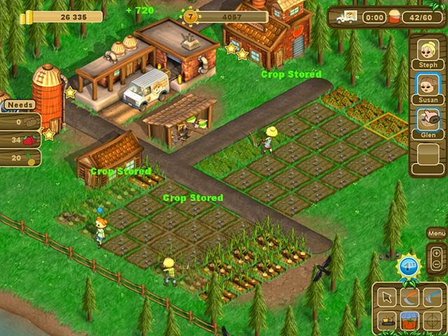 Country Harvest IPad IPhone Android Mac PC Game Big Fish - Country games