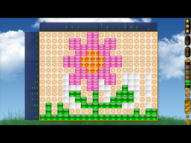 Crystal Mosaic 2 - Screenshot