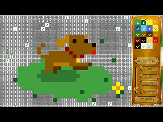 Crystal Pixels - Screenshot