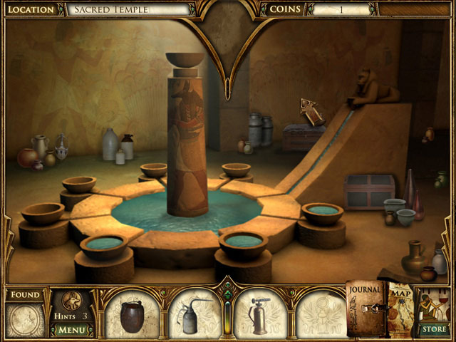 Curse of the Pharaoh: The Quest for Nefertiti > iPad, iPhone