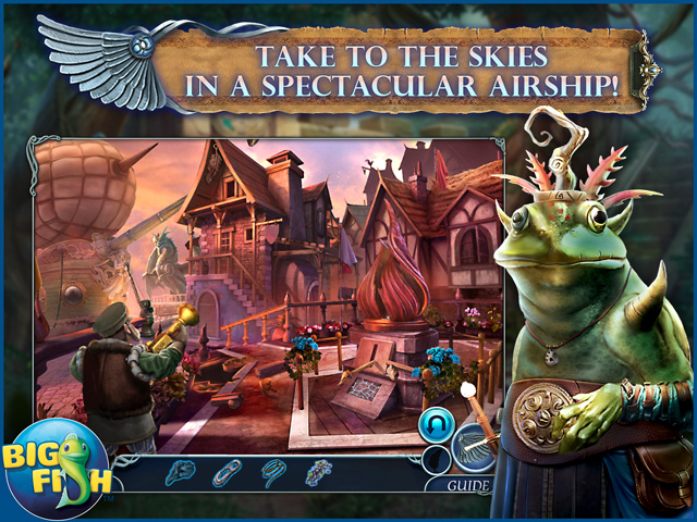 Screenshot for Dark Realm: Lord of the Winds Collector's Edition