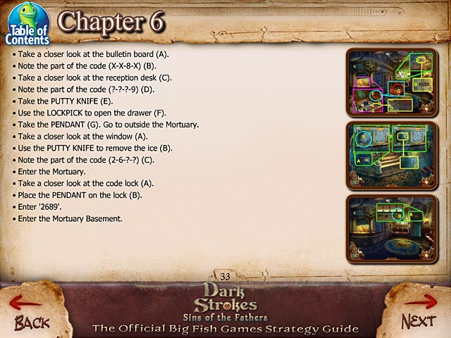 Dark strokes sins of the fathers strategy guide ipad for Big fish casino promo codes