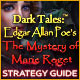 Dark Tales: Edgar Allan Poe's The Mystery of Marie Roget Strategy Guide
