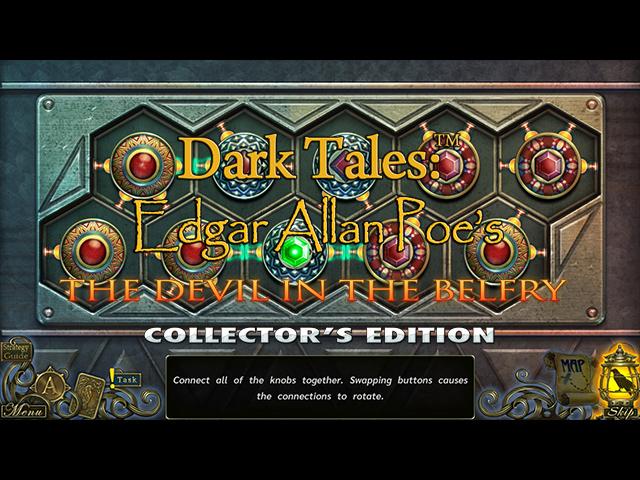Dark Tales: Edgar Allan Poe's The Devil in the Belfry Collector's Edition - Screenshot