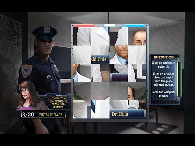 The Deceptive Daggers: Solitaire Murder Mystery - Screenshot