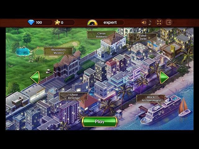 Detective Investigations - Screenshot