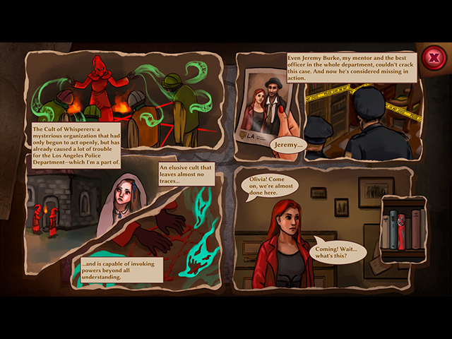 Detective Olivia: The Cult of Whisperers Collector's Edition - Screenshot