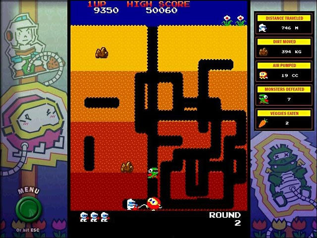 Video for Dig Dug