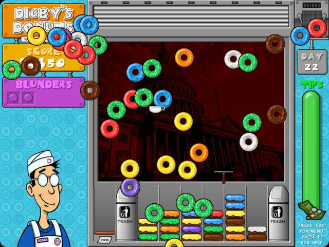 Papa's Donuteria - Play it now at Coolmath-Games.com