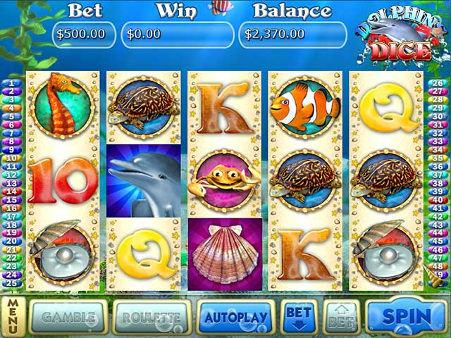 Video for Dolphin Dice Slots