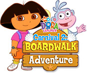 Dora's Carnival 2: At the Boardwalk Game