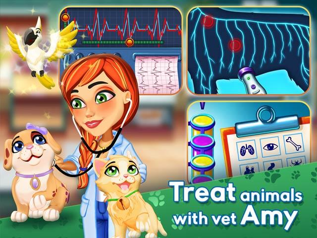 Dr. Cares 2: Amy's Pet Clinic Screen1