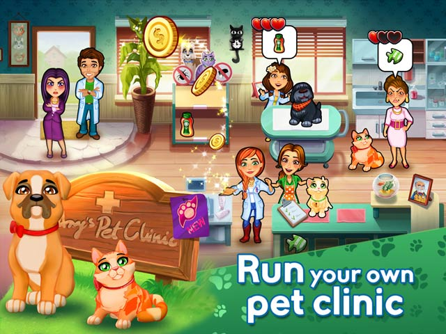 Dr. Cares 2: Amy's Pet Clinic Screen2