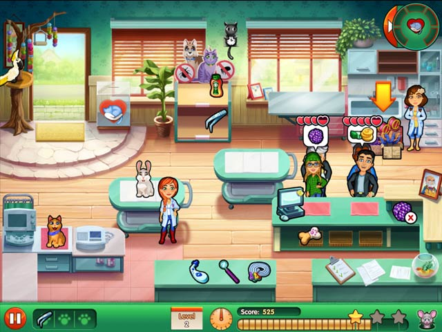 Dr. Cares 2: Amy's Pet Clinic Screen3