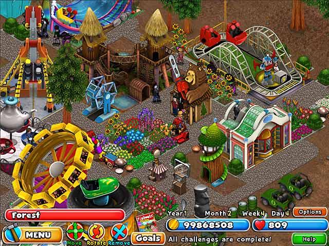 Dream Builder: Amusement Park > iPad, iPhone, Android, Mac & PC Game