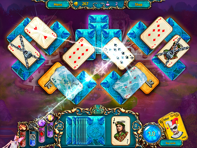 Dreamland Solitaire: Dark Prophecy Collector's Edition - Screenshot