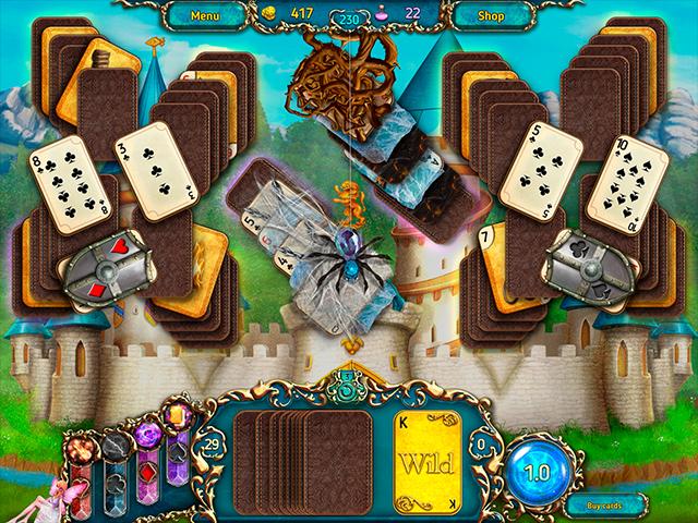 Dreamland Solitaire: Dark Prophecy - Screenshot