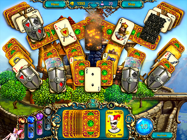 Dreamland Solitaire: Dragon's Fury - Screenshot