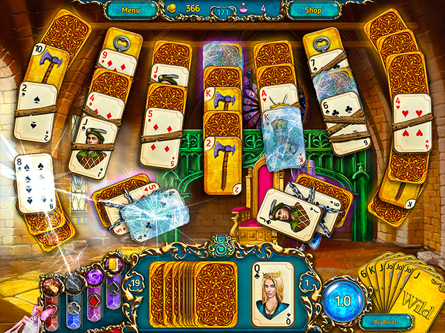 Dreamland Solitaire - Screenshot 1
