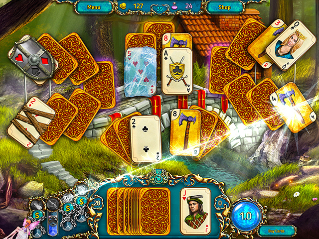 Dreamland Solitaire - Screenshot 2