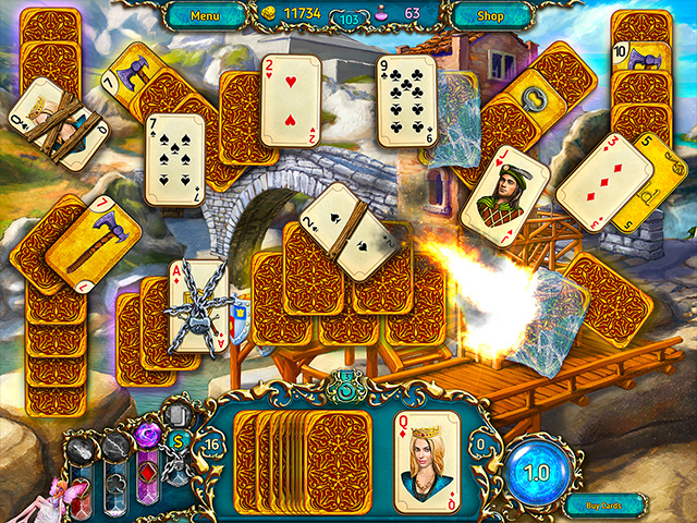 Dreamland Solitaire - Screenshot 3