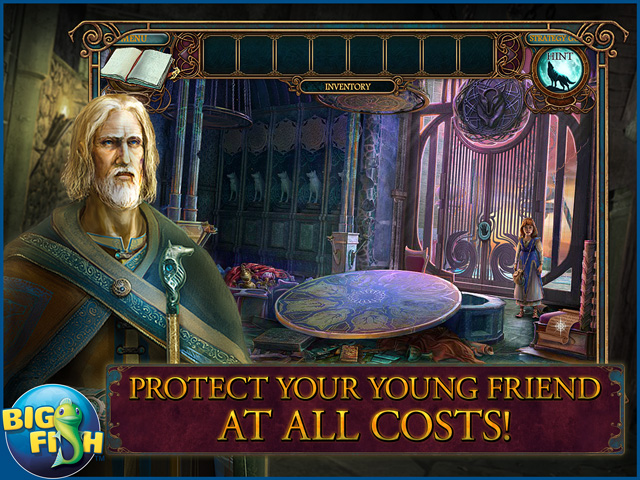 Screenshot for Echoes of the Past: Wolf Healer Collector's Edition