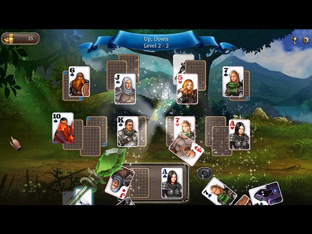 Ember Knight Solitaire - Screenshot