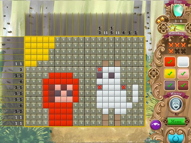Fables Mosaic: Little Red Riding Hood - Screenshot