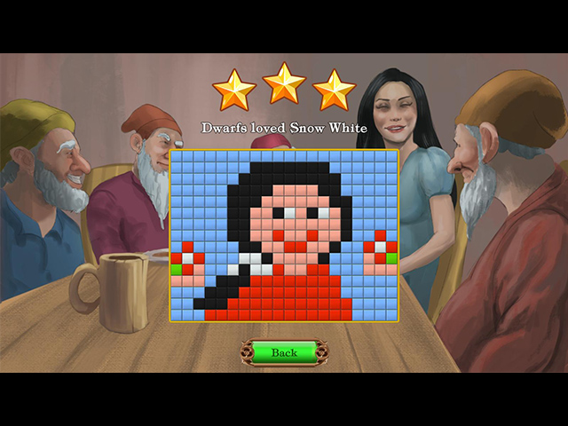 Fables Mosaic: Snow White and the Seven Dwarfs - Screenshot