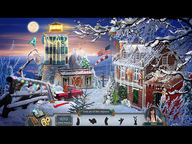 Faircroft's Antiques: Home for Christmas Collector's Edition - Screenshot