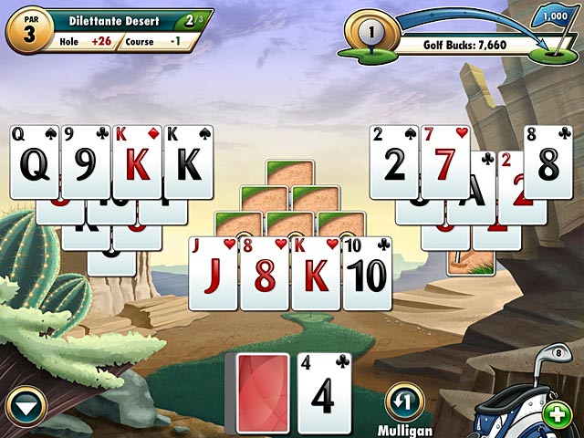 Fairway Card Game 1