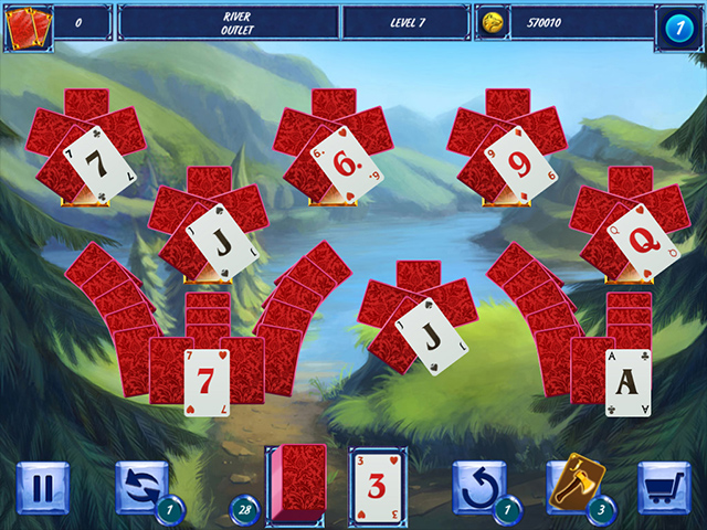Fairytale Solitaire: Red Riding Hood - Screenshot