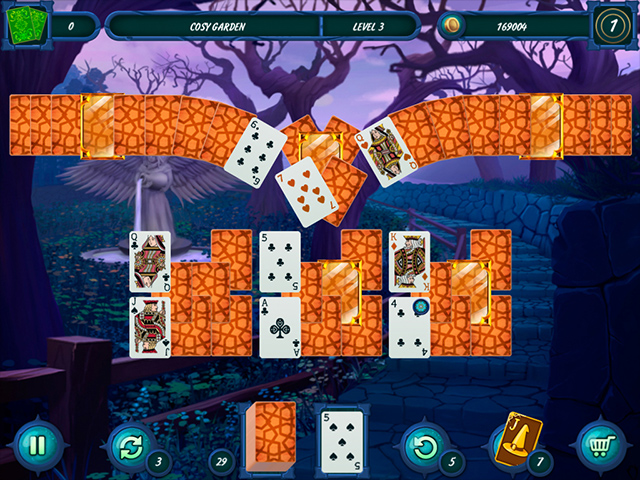 Fairytale Solitaire: Witch Charms - Screenshot