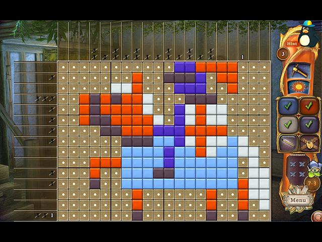 Fantasy Mosaics 36: Medieval Quest - Screenshot