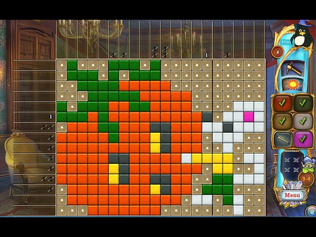 Fantasy Mosaics 37: Spooky Night - Screenshot