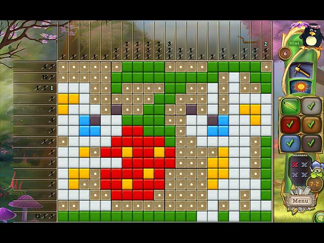 Fantasy Mosaics 39: Behind the Mirror - Screenshot